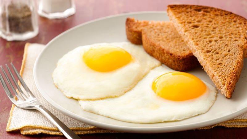 Fried Eggs, Sunny Side Up Recipe - BettyCrocker.com