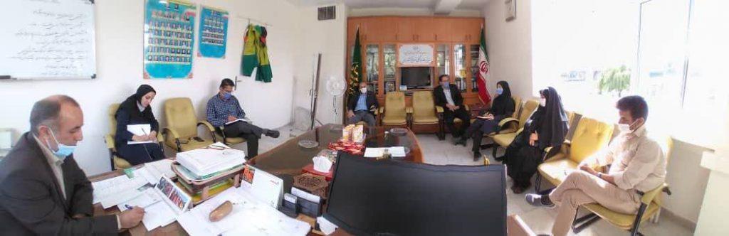 نشست مشترک مدیر هماهنگی ترویج سازمان جهاد کشاورزی استان با معاون آموزشی جهاد دانشگاهی استان قزوین