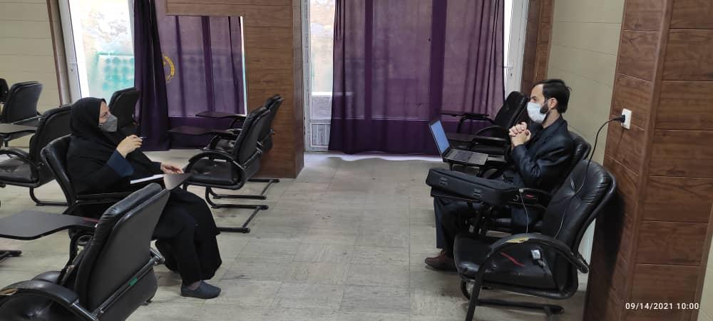 برگزاری جلسات مشاوره فردی برای پیشران های طرح ملی توسعه مشاغل خانگی استان قزوین